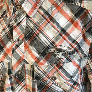 Harley Davidson SS shirt vented back size L